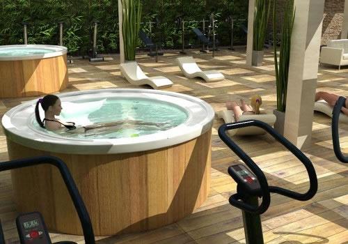 zona residenziale con servizi fitness milano